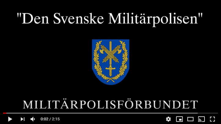The Swedish Military Police Association March